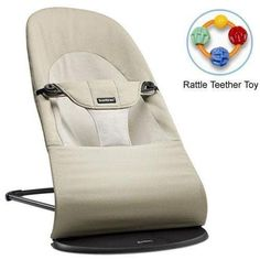 Get baby rockin' with the Baby Bjorn Soft Balance Cotton Bouncer . An ultra-soft version of the classic Baby Bjorn bouncer, this bouncer features. Baby Bjorn, Best Baby Bouncer, Baby Lernen, Young Baby, Bouncers, Infant Activities, Baby Essentials, Modern Essentials, Compact