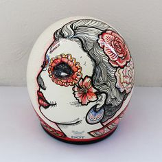 Day Of The Dead Custom Helmet on Behance