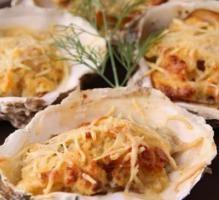 Recette - Huîtres gratinées au Saint Albray - Notée 4/5 par les internautes