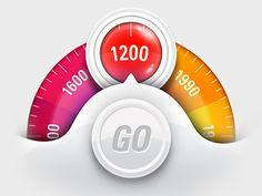 Colour range gauge