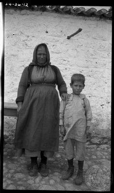 Lefktra, Greece, 1924. Dorothy's Burr Thompson photo archive.