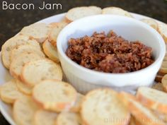 bacon jam recipe - great appetizer or gift