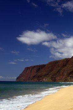 Polihale State Park,  Na Pali coast, Kauai, HI