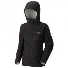 Amazon.com: Mountain Hardwear Women's Stretch Typhoon Jacket - The best travel rain coat.