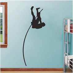 Pole Vault - Vinyl Wall Decals Stickers Quotes