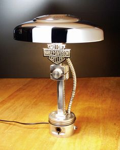 The HD Shield Lamp~ One of my first made back in 2007
