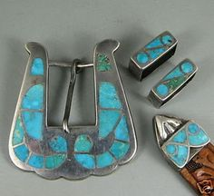 Custom Belt Buckles, Navajo, Westerns, Ranger, Turquoise, Belts, Adobe, Bird, Ebay
