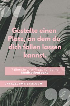 #meditationsecke #meditationseckeeinrichten #meditierenfüranfänger #wohlfühlen #diyideen #diymeditationsecke #yoga #yogamatte #yogablock #inspirationmeditationsecke Coaching, Yoga, Motivation, Self Care, Movie Posters, Inspiration, Contentment, Joie De Vivre, Consciousness