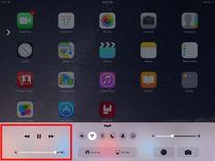 6 Hidden Secrets About the iPad That Will Turn You Into a Pro: iPad Secret #2: Quickly Control Your Music on the iPad