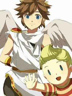 Pit and Lucas, too cute for the fangirls