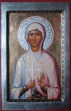 The icon painting workshop by Sergey and Olga Cherniy.