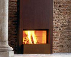Marmerbewerking schouw steen marmer trap kachel betegeling Belgie - Inbouwhaarden en houtkachels - Design Stone