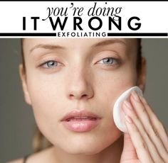 The bibles of beauty have made us well aware that exfoliation is super important. We need to make sloughing off dead skin cells a habit to k...  www.SalinaSurgicalArts.com www.AllureSurgicalArts.com David A. Hendrick MD PA