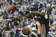 As LaDainian Tomlinson is set to enter Hall of Fame, he stays loyal to Chargers, San Diego after relocation San Diego Chargers, Color Rush Uniforms, Ladainian Tomlinson, American Football League, Wonder Boys, Superbowl Champions, Vince Lombardi, Football Conference, Cheerleading