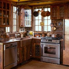 17 Best Small Rustic Kitchens Images