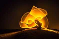 Portraits of Dancers and Acrobats Creating Hypnotic Light Patterns Around the World - My Modern Met