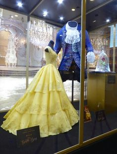 Costumes from Disney's upcoming, live-action Beauty and the Beast