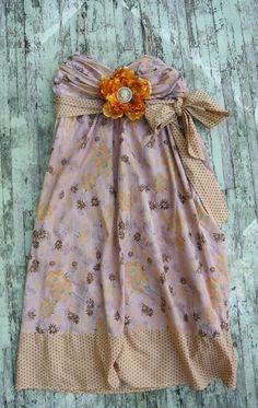 Country chic Sundress Prairie girl slip dress by TrueRebelClothing Country Girl Dresses, Cute Country Outfits, Country Girls, Cute Outfits, Summer Clothes, Summer Dresses, Vintage Slip, Girls Slip, Recipes