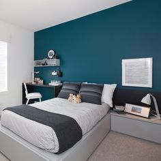 wonderful small bedroom ideas for couples 00026 ideas for couples color schemes Bedroom Wall Colors, Room Design Bedroom, Bedroom Color Schemes, Home Decor Bedroom, Small Master Bedroom, Modern Bedroom, Modern Wall, Small Bedroom Ideas For Couples, Couple Room