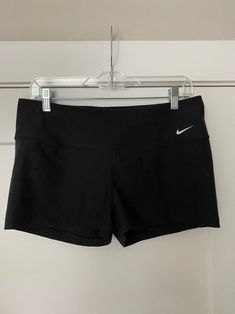 Paid of Nike dri fit black spandex shorts. NWOT. Size large Black Spandex Shorts, Athletic Women, Nike Shorts, Nike Dri Fit, Nike Women, Casual Shorts, Sweatshirts, Fitness, Fashion