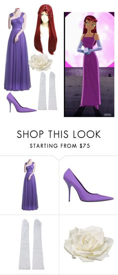 """""""Stare fire prom dresses costume"""" by nato825 ❤ liked on Polyvore featuring Balenciaga, Manokhi and Allstate Floral"""