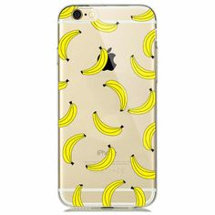 Bunches of Bananas...Dayo! Soft TPU Case Durable High Quality Access to All Ports Available for iPhone 5 5s, 6 6s