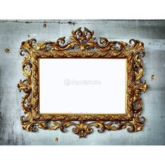Baroque ❤ liked on Polyvore featuring frames