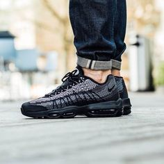 "reputable site eeca5 8ecdc NIKE AIR MAX 95 JCRD IN ""BLACK"" AND ""SAIL"" - Link In"