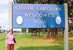 Viagens & Imagens: USA States: South Carolina, the Palmetto State