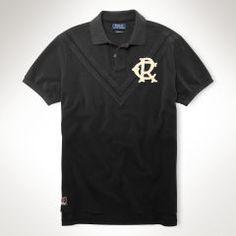 2696aa61d89674 Custom-Fit Chevron Polo Shirt - Polo Ralph Lauren Custom-Fit - RalphLauren .com