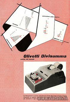 Olivetti Divisumma, 1950