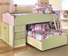 Ashely Dollhouse bed