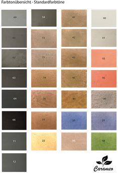 Carameo Beton Cire Gibt Es In Mehr Als 30 Verschiedenen Farben Fugenlos Spachtelmasse Fur Wand