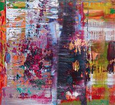 Gerhard Richter, Abstraktes Bild (Abstract Painting), 2014. Oil on wood. [938-4]