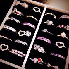 >>>Pandora Jewelry OFF! >>>Visit>> Pandora ring collection for Girls. Pandora Bracelet Charms, Pandora Rings, Pandora Jewelry, Pandora Valentines Ring, Cute Jewelry, Charm Jewelry, Girls Jewelry, Valentine's Day Rings, Heart Rings