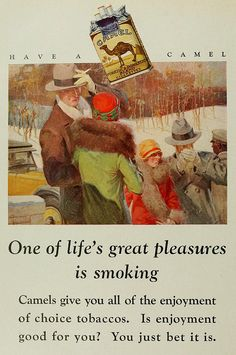 Cigarettes 1928 Its 2012 and we haven't seen these commerecials for years now