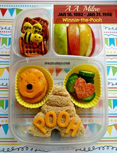 A.A. #Milne birthday Winnie-the-Pooh tribute #lunch