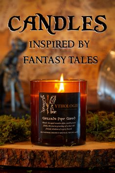 High Fantasy, Diy Candles, Her Music, Lord Of The Rings, Lotr, Candle Making, The Hobbit, Things To Buy, Making Ideas