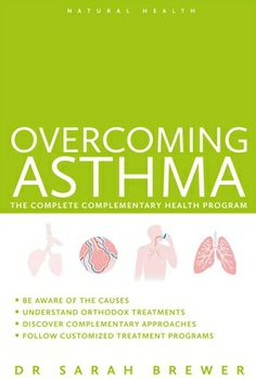 Overcoming asthma. Author Sarah Brewer provides a highly authoritative yet easy-to-follow program of complementary medicine and self-care treatments, specially designed to support the conventional treatment for asthma. Available from Campbelltown campus library. #asthma #complementaryhealth #treatment #breathingdifficulties
