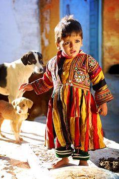 Little boy in Jaisalmer