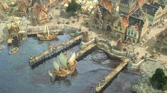 Screenshot from videogame Anno 1404  http://image.jeuxvideo.com/images/pc/a/n/an14pc027.jpg