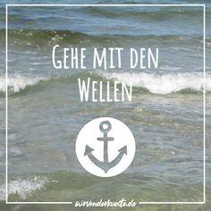 Denn gegen den Strom zu schwimmen kostet sehr viel Kraft... 😅🌊⚓ Am Meer, Juventus Logo, Team Logo, Logos, Wise Words, North Sea, Swim, Logo