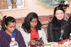 mbbs student from mumbai in deepawali party in poltava,ukraine