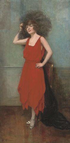 Henri Gervex - La robe rouge