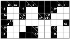 Number Logic Puzzles: 24357 - Kakuro size 2