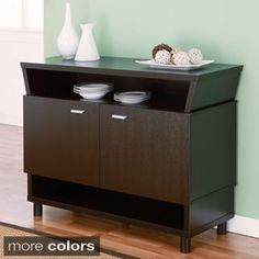 Furniture of America Modern Avant-garde 2-cabinet Dining Buffet Server | Overstock.com Shopping - The Best Deals on Buffets