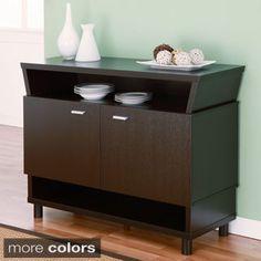 Furniture of America Modern Avant-garde 2-cabinet Dining Buffet Server | Overstock.com Shopping - The Best Deals on Buffets