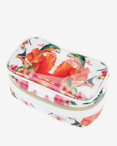 Tropical toucan jewelry case - White   Gifts for Her   Ted Baker