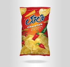 30+ Crispy Potato Chips Packaging Design Ideas