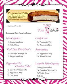 pink zebra sprinkles peppermint patty - Google Search-https://www.pinkzebrahome.com/KreativeSprinkleBoss